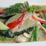 Green curry wook