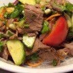Thai-Biffsalat